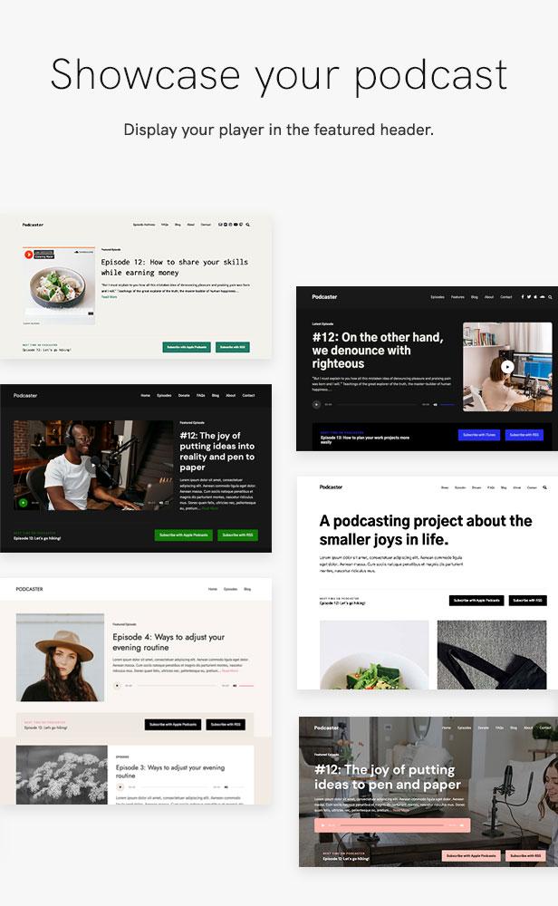 Podcaster - Multimedia WordPress Theme - 14