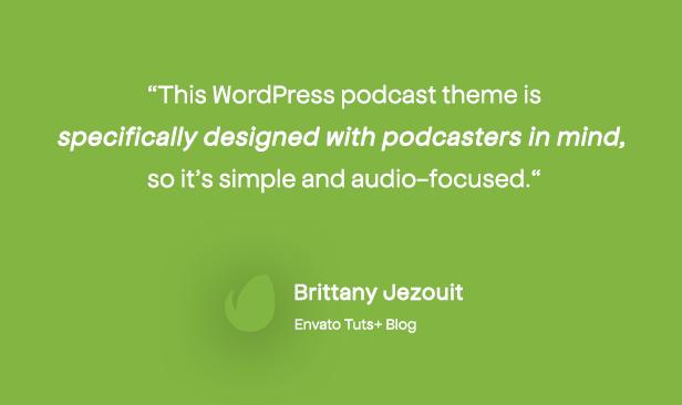 Podcaster - Multimedia WordPress Theme - 10