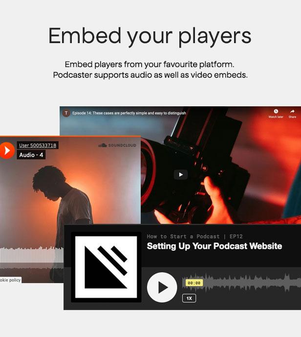 Podcaster - Multimedia WordPress Theme - 15