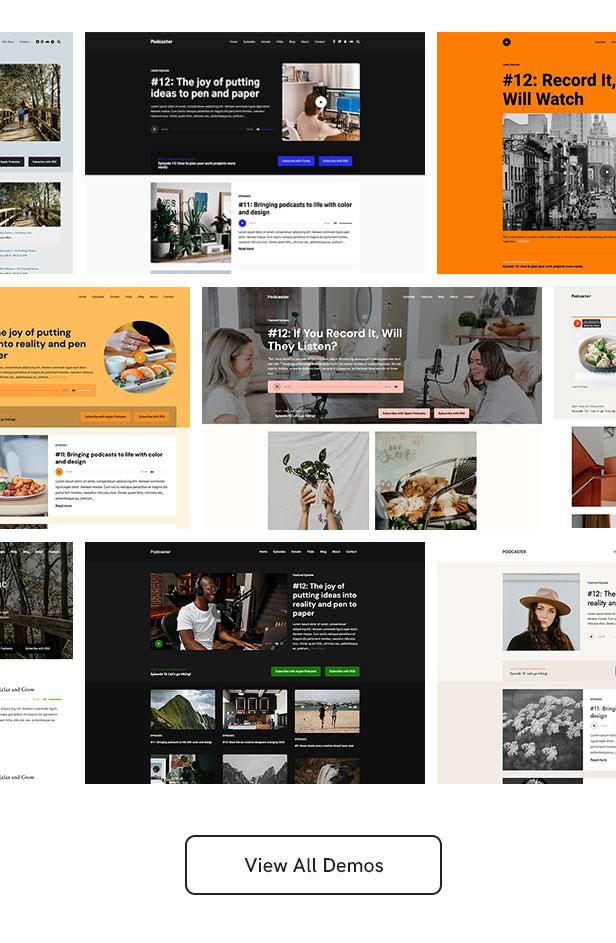 Podcaster - Multimedia WordPress Theme - 11